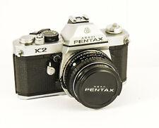 Pentax K2 avec SMC Pentax-M 1.7 50 mm