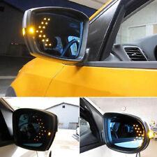 1x Yellow Arrow Indicator 14SMD Hidden LED Car Side Mirror Turning Signal Light