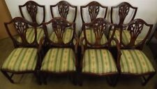 Mahogany Reproduction Antique Dining Chairs