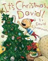 It's Christmas, David! by Shannon, David, NEW Book, FREE & Fast Delivery, (Hardc