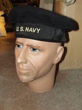 """Bachi de Marin Américain WW2 taille 7"""" bonnet Armée cap chapeau bob US Navy"""