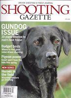 Shooting Gazette Magazine Gundog Issue Budget Birds Pigeon Power Soldiers 2014