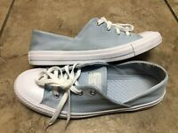 CONVERSE Womens Chuck Taylor All Star Size 10 Botanical Light Blue Sneaker