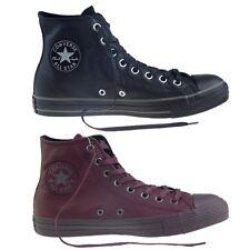 """CONVERSE Scarpe SNEAKER Shoes """"All Star HI Leather"""" UOMO Originali NUOVE Pelle 2"""