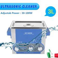 3L Pulitore ad Ultrasuoni Pulitore Vasca Ultrasuoni Heating Timer Inossidabile