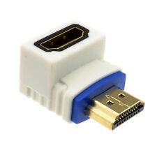 Pro HDMI adaptador de ángulo recto de 2.0 Socket A Enchufe de alta velocidad 90 grados [008724]