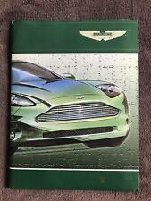 Aston Martin 1998 Detroit Press Pack Project Vantage DB7 Dunhill V12 vanquish