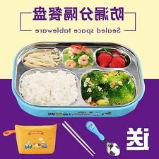 Quality Stainless Steel Separated Leakproof Lunch Box *FREE GIFTS