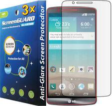 3x Anti-Glare Matte LCD Screen Protector Guard  LG G3 D850 D855 D851 LS990 VS985