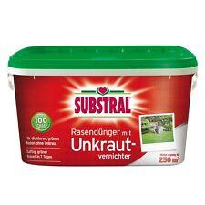 Substral Rasen-Dünger mit Unkrautvernichter - 5 kg - Rasendünger Unkraut Klee