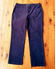 SPORTSCRAFT Deep Plum/Purple Stretch Corduroy Pants Size 13
