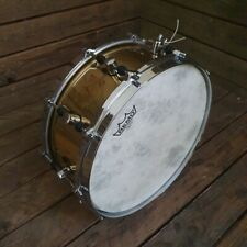 """Snare Drum 14"""" Sonor Signature Horst Link Brass USED! RKSNS280821"""