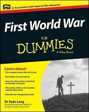 First World War For Dummies by Lang, Seán | Paperback Book | 978111867999