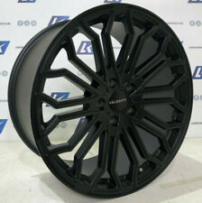 "20"" VELOCITY 2  LOAD RATED BLACK ALLOY WHEELS TYRES FIT VW TRANSPORTER T5 / T6"