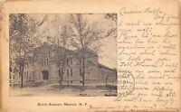 Medina New York~State Armory~Army National Guard~Pearl Street~1906 Postcard