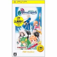Used PSP Tales of Rebirth SONY PLAYSTATION JAPAN IMPORT