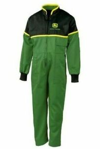 Genuine John Deere Childrens Overalls Juniper Green Kids Coverall Christmas Gift