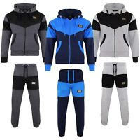 Boys Kids Tracksuits Fleece Active Sports Hoodie Jogging Bottom age 7-13