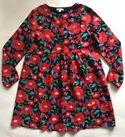 New Du pareil au Meme (DPAM) Girls Floral Long Sleeve Dress 10 Years