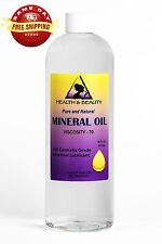 MINERAL OIL 70 VISCOSITY NF USP GRADE LUBRICANT by H&B Oils Center PURE 32 OZ