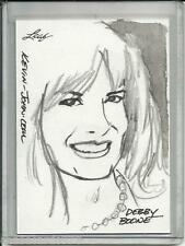 Debby Boone 2011 Leaf National Convention Artist Sketch Card #1/1 by Kevin John