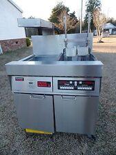 Frymaster Computer Magic Electric Fryer Model#: FMH117BLCSD, 480V 3Ph Xtra CLEAN