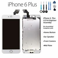 For iPhone 6 Plus Retina LCD & Digitiser Touch Screen Assembly Replacement WHITE