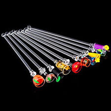 10*PRO Mixed Glass Shape Long Handle Bartending Drink Stir Bar Cocktail Spoons