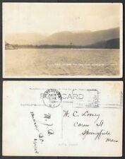 1924 Canada Real Photo Postcard - British Columbia - Howe Sound