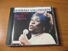 SARAH VAUGHAN - BROKENT HEARTED MELODY THE COLLECTION OBEJECT CD FRANCE