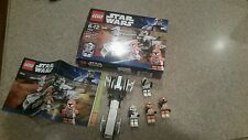 Lego Set 7913 Clone Trooper Battle Pack STAR WARS w/ instructions 100% complete