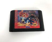 Sonic the Hedgehog Spinball Sega Genesis Video Game Cart