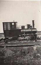 orig.foto ca.6x6cm Steam Locomotive Unterhaching 1934 reichsautobahnbau Stöhr