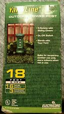Yard-Line Outdoor Power Post 16 Gauge 3 Conductor With 18 Ft Cord New