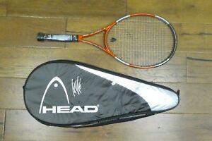 Andre Agassi Signed Tennis Raquet
