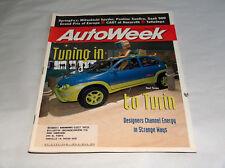 autoweek puede 1996 Car Truck REVISTAS TUNING PARA Turin OPEL TONGA Strange Ways