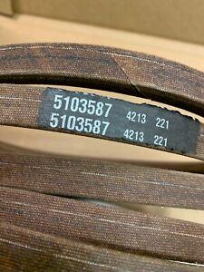 Genuine Ferris 5103587 Belt Snapper Pro