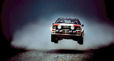 Audi Quattro Rally Car XXL Over 1 Meter Wide 1 Piece Glossy Poster Art Print!
