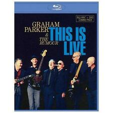 New: GRAHAM PARKER & THE RUMOUR - This Is Live (Blu-ray+DVD)