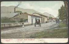 Mexico Postcard Orizaba Calle Guadalupe Tramway 1910 L@@K