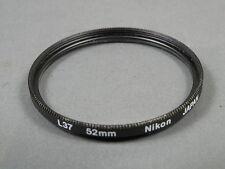 Nikon Filter L37 UV 52mm, Einschraubanschluss 52mm s. g. Zustand, Glas Top!