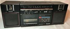Vintage Panasonic Rx-C36 Am/Fm Portable Boombox Tested w/ Detachable Speakers !