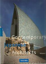 JODIDIO CONTEMPORARY JAPANESE ARCHITECTS vol 2 TASCHEN + PARIS POSTER GUIDE Eng