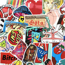 100Pcs Mixed Stickers Graffiti Skateboard Laptop Luggage Decals Stickers