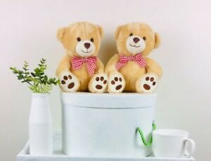 Bowtie Bears 🐻 2x Crafty Bears, Great For Hampers