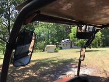 UTV Clear Rear View Center Mirror--High Impact Shatter-Proof Tempered Glass