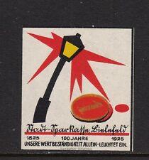 403168/ Reklamemarke - 100 Jahre Stadt-Sparkasse Bielefeld - 1925 - **