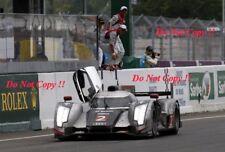 Fassler & Lotterer & Treluyer Audi R18 TDi Winners Le Mans 2011 Photograph 7
