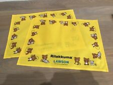 New listing New Lot 2 San X Rilakkuma Bear PlaceMats Kitchen Dining Table Lawson Japan