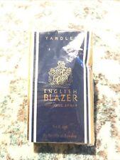 Yardley Of London English Blazer Cologne Spray 3.4 Fl Oz Vintage England 1990 Ne
